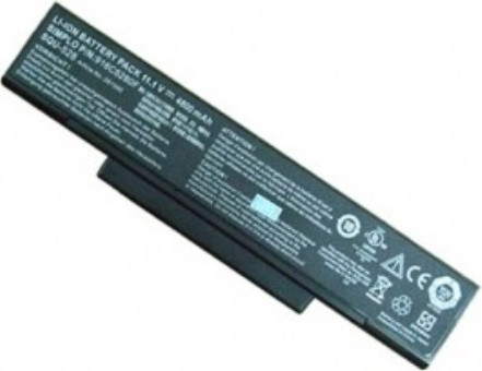 Gericom Supersonic Force 17120F erstatning batterier