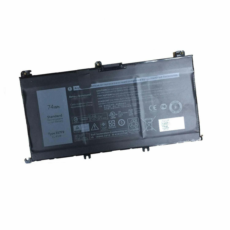 357F9 71JF4 Dell Inspiron 15 7559 15 7000 7566 7567 P65F kompatibelt batterier