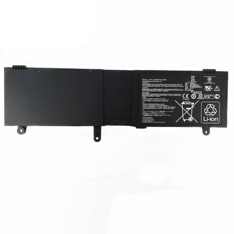 C41-N550 ASUS N550J N550JA N550JV N550JK Q550L Q550LF kompatibelt batterier