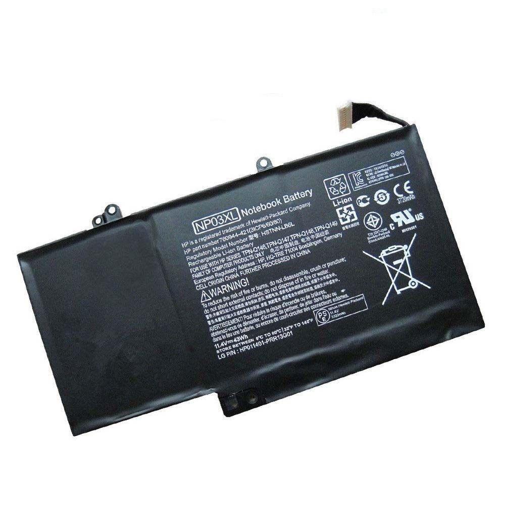HP Envy x360 15-U001NG 15-U001NL 15-U001XX 15-U002NF kompatibelt batterier