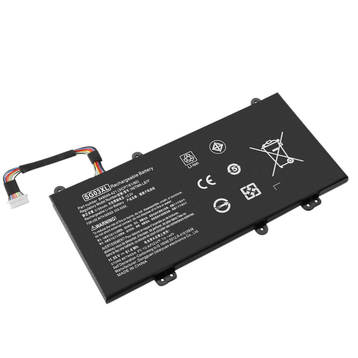 SG03XL HP Envy Notebook M7-U009DX 17-u163cl 849314-850 849315-850 kompatibelt batterier